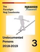 Negative Case Book #3 -Undocumented Persons Negatives